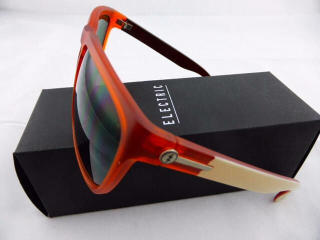 6a186e75f8 Electric Knoxville XL Ee11256220 Plastic Orange Men Sunglasses 2207 ...