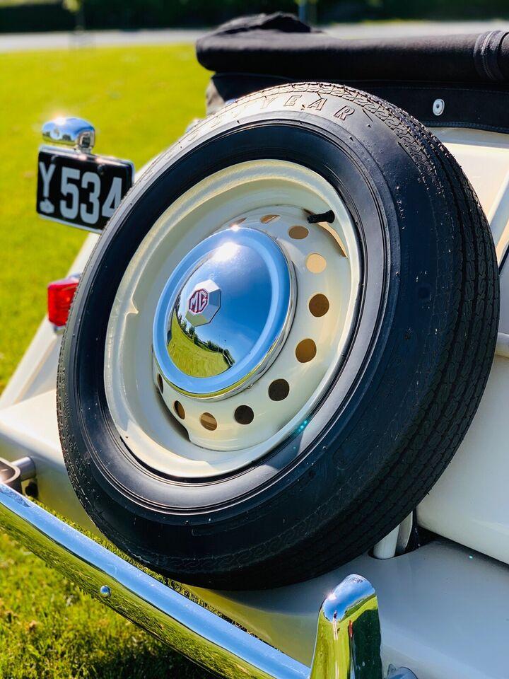 MG TD, 1,25 Roadster, Benzin