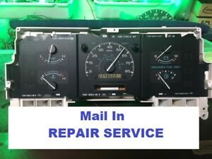 Details about Ford F150 F250 F350 Bronco e250 94 95 96 Speedometer  Instrument Cluster REPAIR