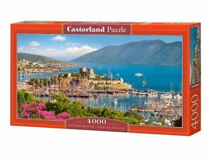 "Castorland Puzzle 4000 Pieces - Turkish Riviera - 54"" x 27"" Sealed box C-400157"