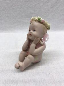 The-Hamilton-Collection-Love-Is-Patient-Porcelain-Angel-1995-Vintage