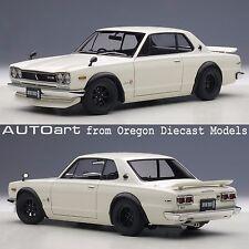 AUTOart 77442 1/18 Nissan Skyline GT-R (KPGC10) Tuned Version White