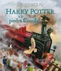 Harry Potter y La Piedra Filosofal (Ilustrado) by J K Rowling (Hardback, 2015)