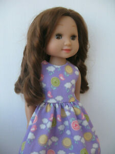 Details About Clothes For Melissa Doug Mine To Love 14 Handmade Outfit Doll Dress