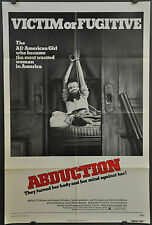 ABDUCTION 1975 ORIGINAL 27X41 MOVIE POSTER JUDITH-MARIE BERGAN DAVID PENDLETON