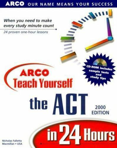 Arco Teach Yourself ACT in 24 Hours 2000 by Nicholas Falletta / NO CD #1