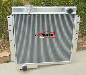 3ROW-ALUMINUM-Radiator-FOR-Toyota-LandCruiser-BJ40-BJ42-3-0-Diesel-1974-1984-MT