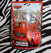 DISNEY PIXAR CARS- MATER PLASTIC FIGURAL /COLLECTORS KEY RING FROM THE 1ST MOVIE