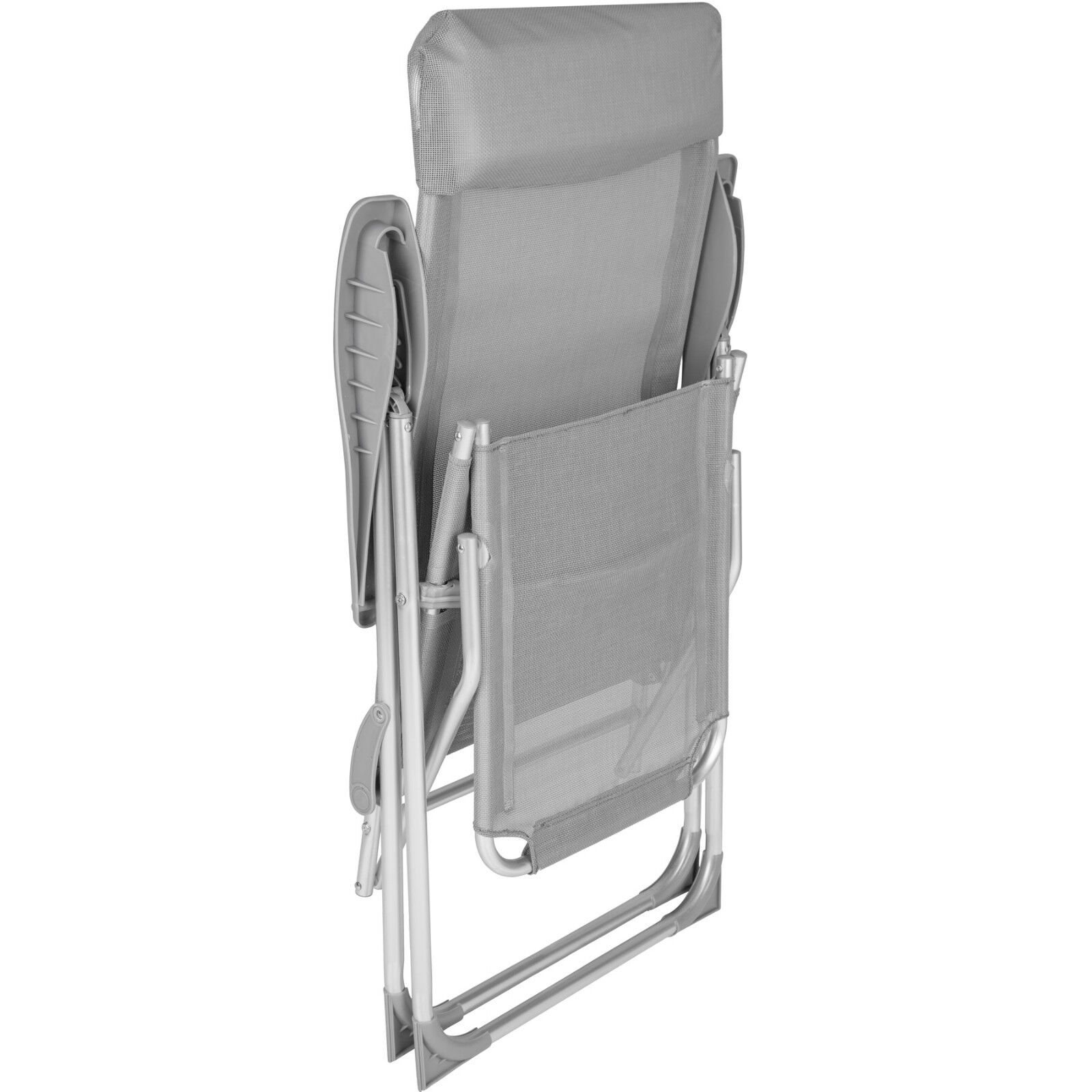 Lot de 2 Fauteuil pliable en aluminium aluminium aluminium chaise multi-positions terrasse jardin e1c0c7