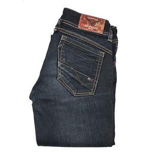 Tommy-Hilfiger-Jeans-Donna-Vittoria-Taglia-W26-L32-grigio-scuro-o-blu