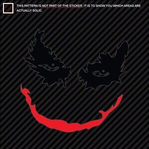 Image Is Loading JOKER Decal Diecut Sticker Dark Knight Why So