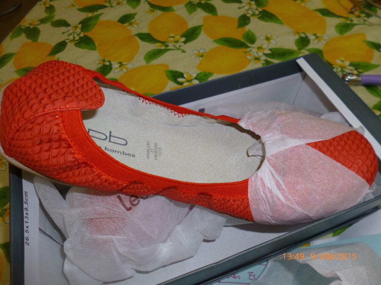 LES P'TITES BOMBES   2015 ballerines modèle ELLA SERPENT - collection été 2015  neuves 9e1ac7