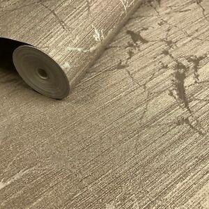 Embossed-Wallpaper-brass-metallic-Textured-Plain-Modern-gold-wall-covering-rolls