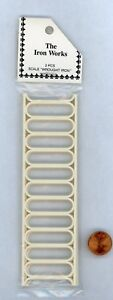 Miniature-Dollhouse-2-Pc-Plastic-porch-rail-pieces-6-034-L-X-1-5-8-034-H