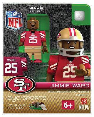Jimmie Ward NFL SAN FRANCISCO 49ERS Oyo Mini Figure NEW G2