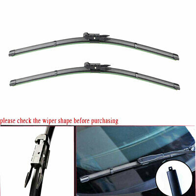Pair LHD Front Windshield Wiper Arms Left /& Right New For Audi Q7 2007-2015