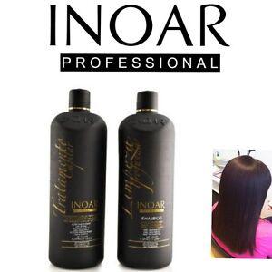 Inoar Marocain Traitement Kératine Brésilien Sèche Cheveux Lissage 200ML Kit