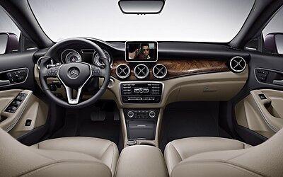 2014 Mercedes-benz Cla-class C117 Hdmi Video Interface Add Smartphone Rear Cam