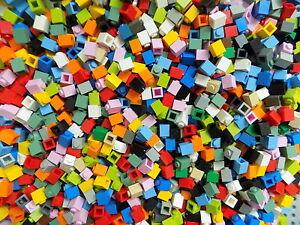 LEGO 1x1 Basic Bricks Assorted Classic Trans Colors Mosaic Bulk Lot 3005 Pound