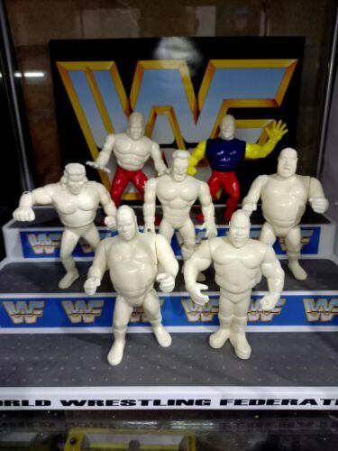 WWF WWE Hasbro Custom série complète 12 Wrestling Figure