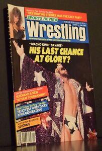 Sports Review Wrestling Magazine January 1990