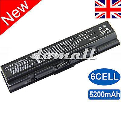 Battery For Toshiba Satellite Pro A300 A200 L300D L450 L500 PA3534U-1BRS UK