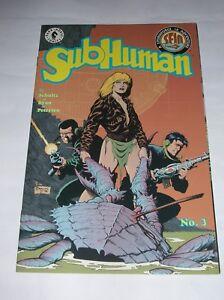 Ravissement Subhuman N° 3 - Dark Horse Comics 1998 ( Comics Usa )