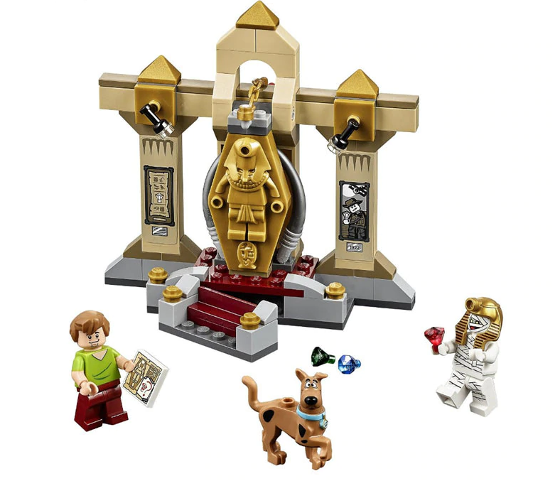 Scooby Doo The Mummy Museum Momia Museo 10428 LEGO Building Blocks Toys