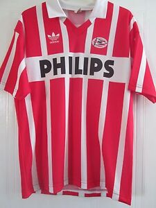 75242c752 Image is loading PSV-Eindhoven-1990-1992-Ronaldo-9-Football-Shirt-