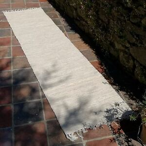 Rug-Indian-Runner-Quality-Handmade-Recycled-Cotton-60-x-245cm-Natural