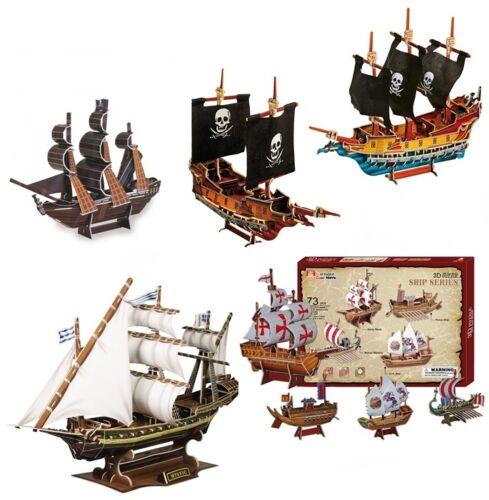 3d Puzzle Piratenschiffe Schiffe Piratenschiff