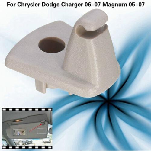 2Pcs Sun Visor Clips Hook Holder For Chrysler Dodge Charger 06-07 Magnum 05 Af+n