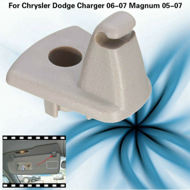 2 X Sun Visor Clips Hook Holder For Chrysler Dodge Charger 06 07 Magnum 05 07 Jku by Ebay Seller