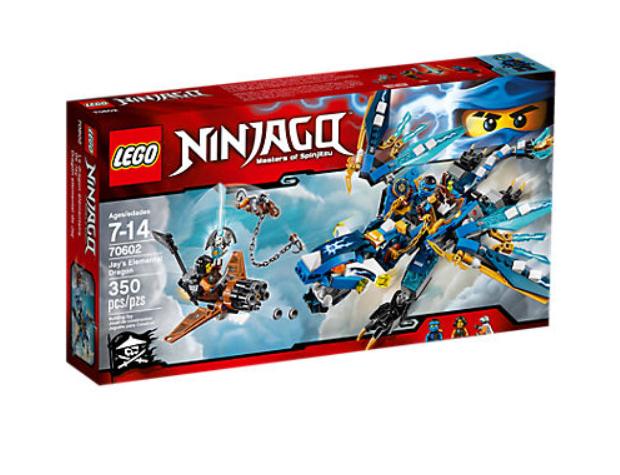 LEGO 70602 NINJAGO® Jay's Elemental Dragon  BRAND NEW