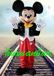 Big Sale Special Mickey Mouse Mascot Costumes Fancy Dress Adult Size