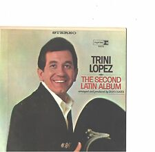TRINI LOPEZ--JUKE BOX HARD COVER PICTURE SLEEVE + 45--(SECOND LATIN ALBUM)--PS