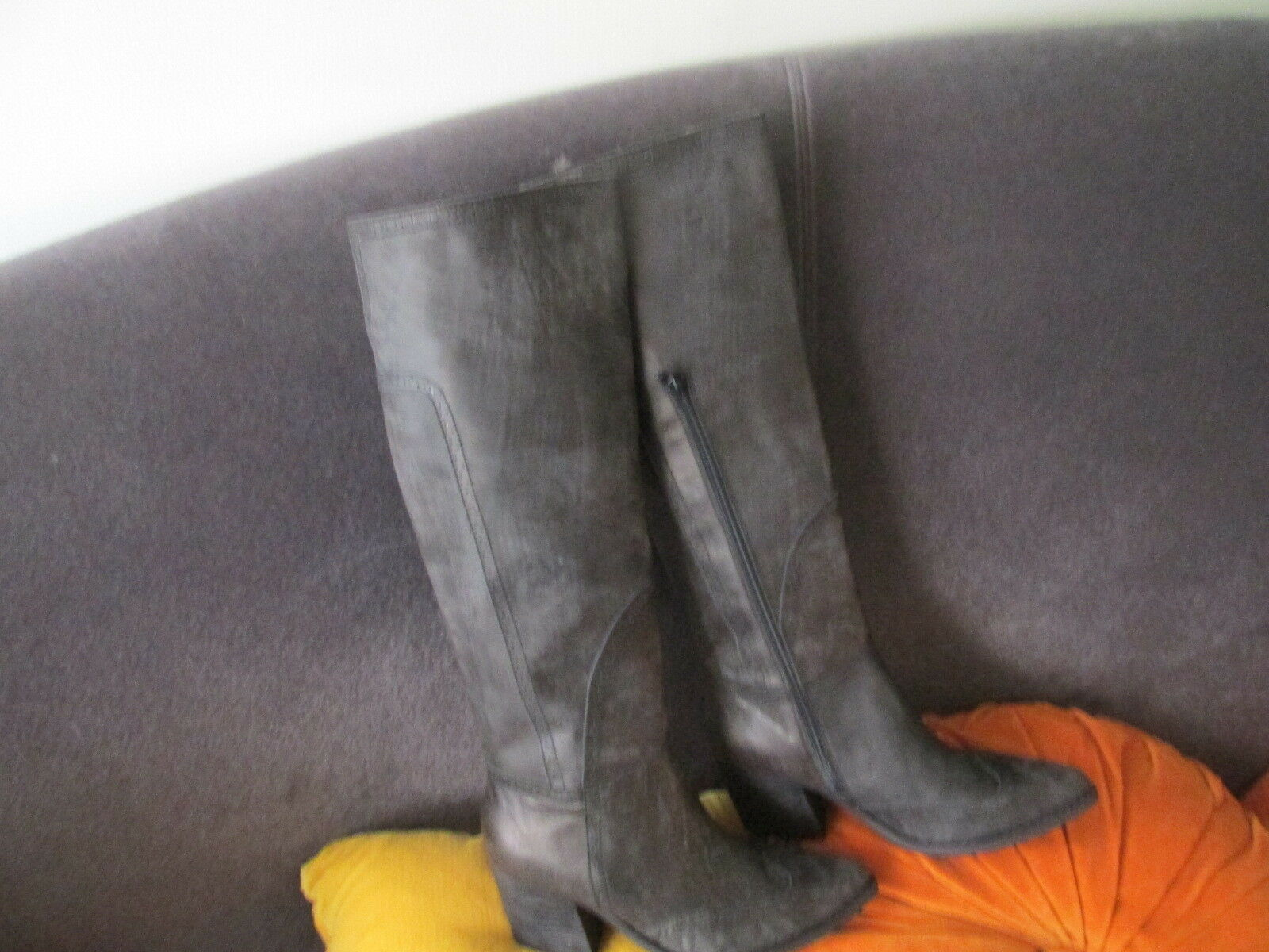 Jeffrey Campbell Campbell Campbell Torrent Distressed Leather  Tall Boot size 7.5 NWOB 1e5314