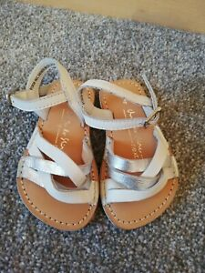 Next Baby Girls Real soft leather White