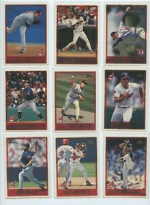 1997-TOPPS-CLEVELAND-INDIANS-TEAM-SET-W-DRAFT-PICKS-and-PROSPECTS-26-Cards