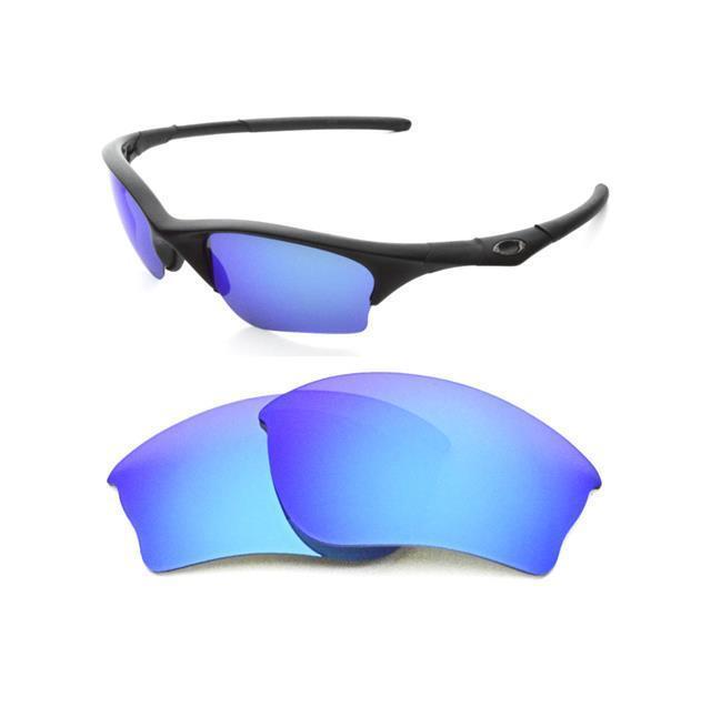 9171f31605 Polarized Custom Ice Blue Lens for Oakley Half Jacket Sunglasses for sale  online