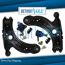 NEW 4pc Front Lower Control Arms & Ball Joints for Volkswagen Jetta Golf Beetle