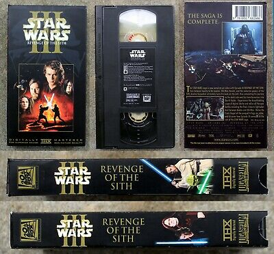 Vhs Star Wars Episode 3 Iii Revenge Of The Sith Cbs Fox Dvd Blu Ray Ebay