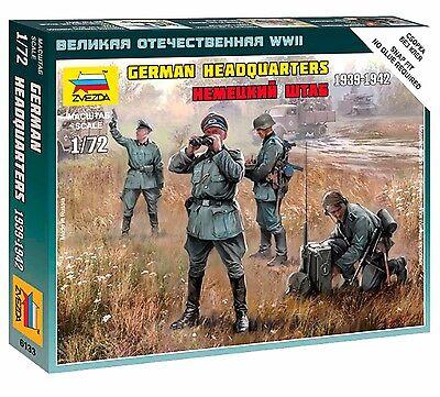 Zvezda - German Headquarters 1939-1942 - 1:72 - 6133