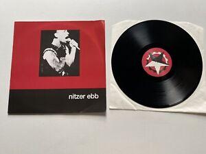 Nitzer-Ebb-Warsaw-Ghetto-12-Vinyl-Single-1987-Barcode-Reissue-Rare-Import