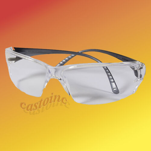 Elvex Helium 18 Ultralight Safety Glasses with Clear Anti-Fog Lens