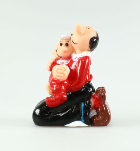 Figurine plastique Popeye Figurine creuse de Olive et Swee'Pea