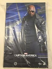 Hot Toys MMS 315 Captain America Winter Soldier Nick Fury Samuel L. Jackson NEW