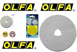 1pk OLFA 60mm Rotary Replacement Blades
