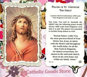 Prayer-of-St-Saint-Gertrude-the-Great-Scalloped-trim-Paperstock-Holy-Card