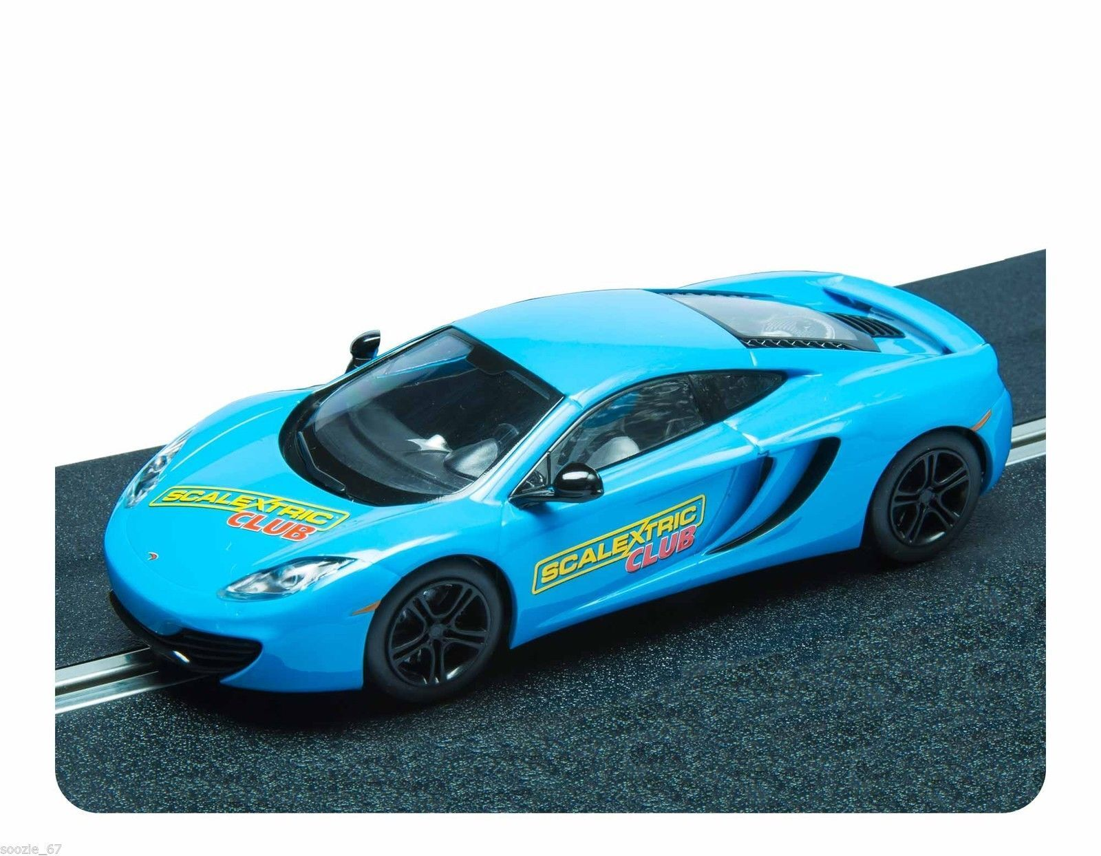 Scalextric Mclaren MP4-12C Limited Edition Club Car 2012 Brand New Boxed C3327